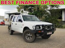 2000 Holden Rodeo TF R9 LX Crew Cab White 5 Speed Manual Utility Underwood Logan Area Preview