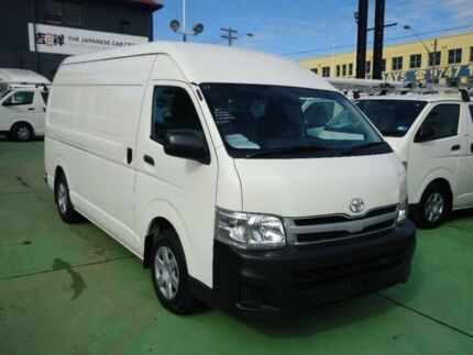 2011 Toyota Hiace KDH221R MY11 Upgrade SLWB White 4 Speed Automatic Van Canada Bay Canada Bay Area Preview