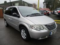 CHRYSLER GRAND VOYAGER 2.8 CRD EXECUTIVE XS 5d AUTO 151 BHP (silver) 2008