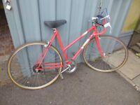 Vintage Ladies Racing Bike