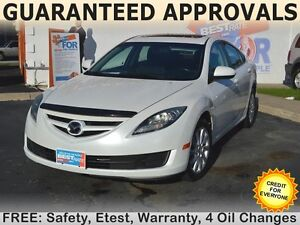 2011 Mazda MAZDA6 GS with SUNROOF can be yours for $43/week