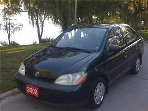 2002 TOYOTA ECHO,AMAZING CONDITION,POWER LOCKS,AIR CONDITIONING!