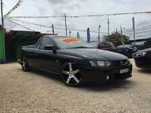 2003 Holden Commodore VY SS Black 6 Speed Manual Utility Islington Newcastle Area Preview