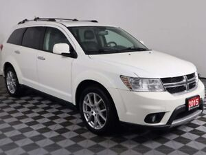 2015 Dodge Journey R/T w/DVD PLAYER, SUNROOF, HEATED LEATHER, 7