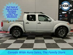 2018 Nissan Frontier 4X4,Crew PRO-4X, Leather, Sunroof,