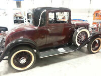 EXTREMELY RARE 1932 CHEV CONFEDERATE 3 WINDOW COUP