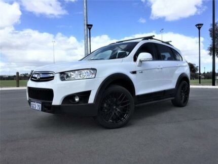 2013 Holden Captiva CG MY13 7 CX (4x4) White 6 Speed Automatic Wagon