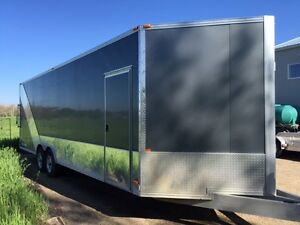 2012 Cargo Pro 26Ft Aluminum Car / Sled hauler fully equipped. Regina Regina Area image 2