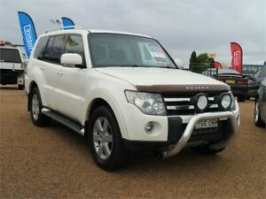 2008 Mitsubishi Pajero NS VR-X White 5 Speed Sports Automatic Wagon Minchinbury Blacktown Area Preview
