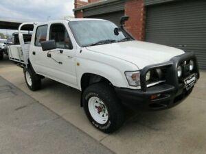 2003 Toyota Hilux LN167R (4x4) White 5 Speed Manual 4x4 Dual Cab Pick-up