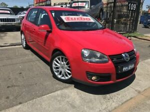2008 Volkswagen Golf 1K MY08 Upgrade GT Sport TSI Red 6 Speed Direct Shift Hatchback Werribee Wyndham Area Preview