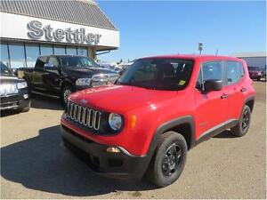 2015 Jeep Renegade Sport 4X4 HEATED SEATS!  BACK UP CAMERA!