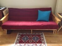 FREE futon in good condition (moving, must let it go)