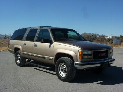 1995 GMC SUBURBAN 454 VORTEC V8 4X4 3 ROWS OF SEATS NICE CLEAN CALIFORNIA CAR