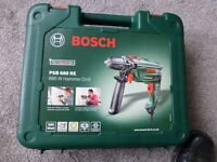 Bosch mains electric power drill with hammer action