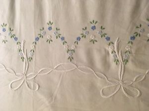 Antique embroidered DOUBLE Duvet cover