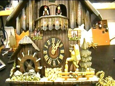 Clock Repair DVD Video - Repairing the Black Forest Cuckoo Clock with Music Box