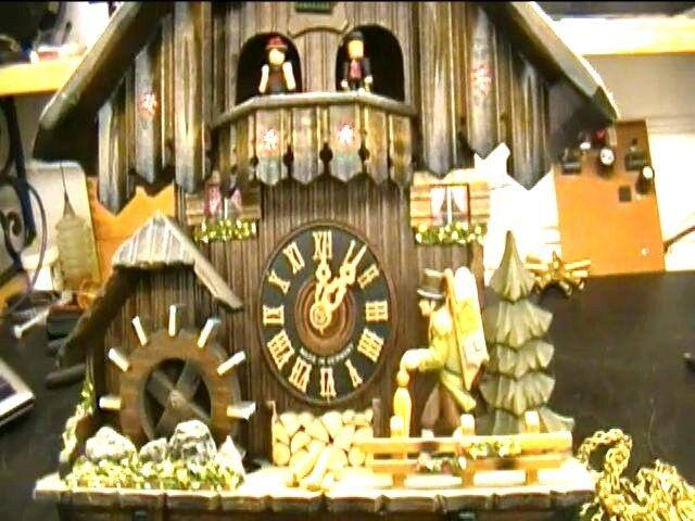 Clock Repair DVD Video - Repairing the Black Forest Cuckoo Clock with Music Box