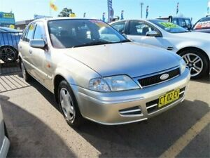 2002 Ford Laser KQ LXI Champagne Manual Hatchback
