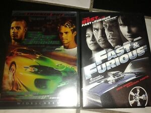 Fast and The Furious DVDS