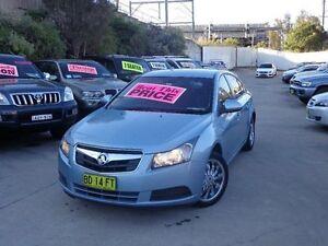 2009 Holden Cruze JG CD Blue 6 Speed Automatic Sedan Holroyd Parramatta Area Preview