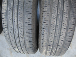 PAIR OF 205/70R16 ALL SEASON,$30 FOR BOTH.