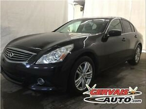 Infiniti G37X Luxury AWD Cuir Toit Ouvrant MAGS 2011