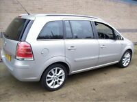 2006 VAUXHALL ZAFIRA 1.9 CDTI 6 SPEED AIRC CONDITIONIG 7 SEATER 1 OWNER FROM NEW 12 MONTHS MOT