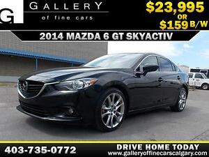 2014 Mazda6 GT-SKY $159 bi-weekly APPLY TODAY DRIVE TODAY