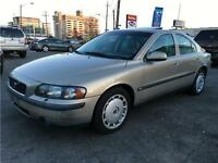 2002 Volvo S60 2.4T A SR, LEATHER, SUNROOF