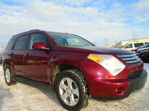 2007 Suzuki XL7 LUXURY PKG-AWD-LEATHER-SUNROOF-7PASSENGERS