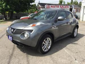 2012 Nissan Juke SL/Accident Free/Automatic/Very Low KM/Sunroof