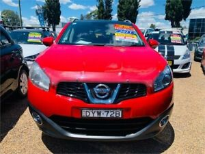 2013 Nissan Dualis J10W Series 4 MY13 Ti-L Hatch X-tronic 2WD Red 6 Speed Constant Variable Minchinbury Blacktown Area Preview