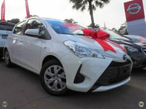 2019 Toyota Yaris NCP130R Ascent White 4 Speed Automatic Hatchback Brookvale Manly Area Preview