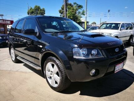 2006 Ford Territory SY Turbo (4x4) Black 6 Speed Auto Seq Sportshift Wagon Cannington Canning Area Preview