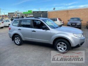 2010 Subaru Forester MY10 X Silver 5 Speed Manual Wagon Barrack Heights Shellharbour Area Preview