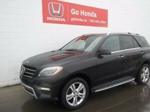 2013 Mercedes-Benz M-Class ML350 BLUETEC DIESEL, AC, LEATHER, AW