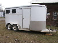 Used 2 Horse Trailer