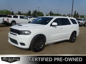 2018 Dodge Durango AWD RT Accident Free,  Navigation (GPS),  Lea