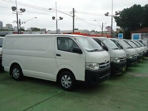 2013 Toyota Hiace TRH201R MY12 Upgrade LWB White 4 Speed Automatic Van Canada Bay Canada Bay Area Preview