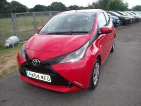 TOYOTA AYGO VVT-I X-PLAY - FSH - EXEMPT OF ROAD TAX - Red Manual Petrol, 2015