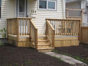 Nanco Construction Custom Decks & Front Porches  Fences