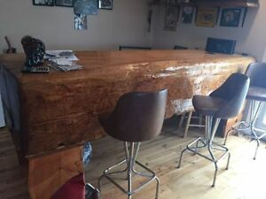 200 year old hand hewn horse trough Bar, *Mancave essential!*