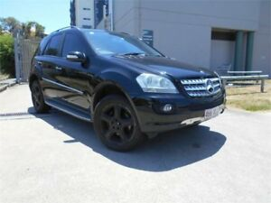 2008 Mercedes-Benz ML320 CDI W164 MY09 Luxury Black 7 Speed Sports Automatic Wagon