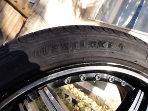 Zinith Rims with like new Westlake tires 95%tread remaining!! Edmonton Edmonton Area image 5
