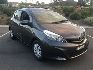 2012 Toyota Yaris NCP130R YR Graphite 5 Speed Manual Hatchback Lisarow Gosford Area Preview