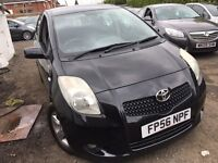 Toyota Yaris 1.3 VVT-i T Spirit 5dr mint condition 2006 (56 reg), Hatchback