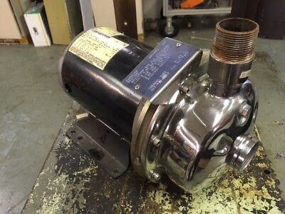 Thermal Care 3400k102 Stainless Ss Pump 1.5 X 1.25 3hp 208-230460v 5-34 3ph