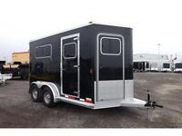 HORSE TRAILERS BY EXISS - FULL ALUMINUM - STRAIGHT LOAD BP