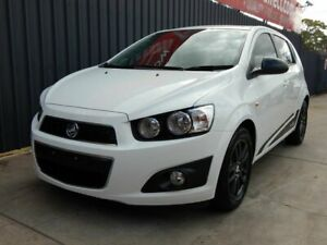2015 Holden Barina TM MY16 X White 5 Speed Manual Hatchback Blair Athol Port Adelaide Area Preview